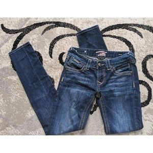 Skinny jeans rerock for express
